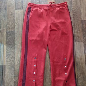 Wild Fable Red Button Track Pants